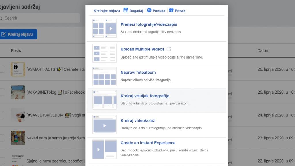 kreiranje-vrtuljka-na-facebooku